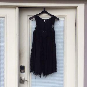 Free People Lace Babydoll Mini Dress